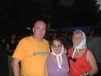 yo con Claudia y Josefa