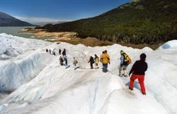 paseo por el glacial el calafate - patagonia argentina -