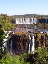 Foz Iguazú. desde el lado argentino