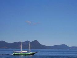 relatos viajeros de brasil - Ilha Grande -