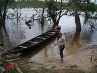 saliendo hacia el rio caura